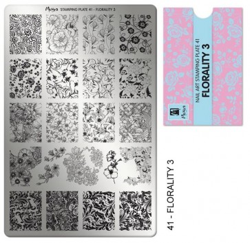 Stamping Plate N° 41 Moyra