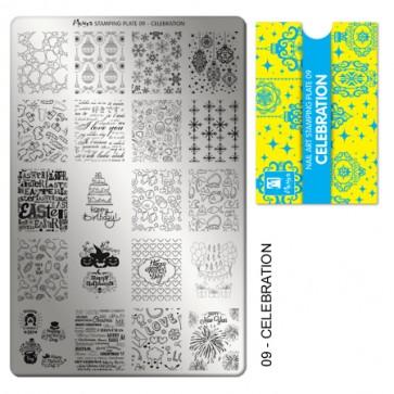 Stamping Plate N° 9 Moyra