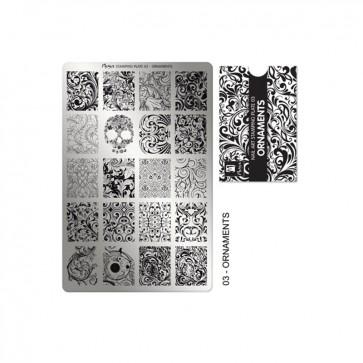 Stamping Plate N° 03 Moyra