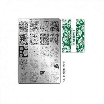 Stamping Plate N° 10 Moyra