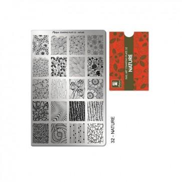 Stamping Plate N° 32 Moyra