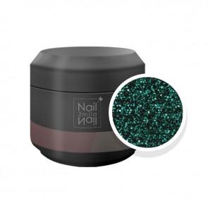 Gel UV Glitter Nero Verde (4256)