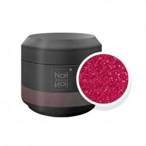 Gel UV Glitter Ultrasottili Rosso (5341)
