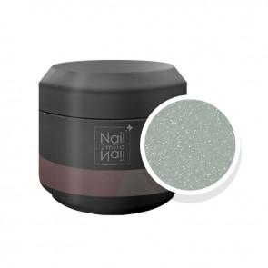 Gel UV Glitter Ultrasottili Perla Grigia