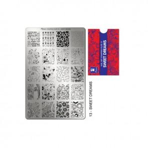 Stamping Plate N° 13 Moyra
