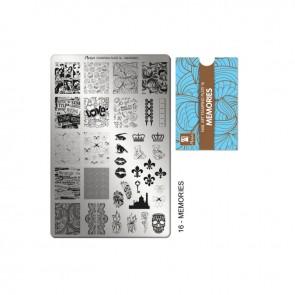 Stamping Plate N° 16 Moyra